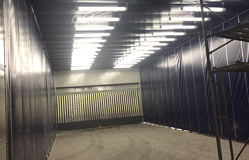 了解移动式喷漆房的具体应用